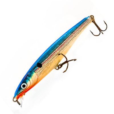 Fishing lures for sale at Blue Heron Sports in Milton, PA