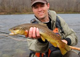 John Phishermann of Milton, PA Trout