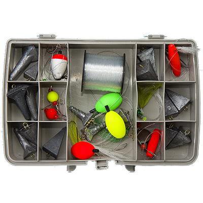 Fishing tackle for sale at Blue Heron Sports
