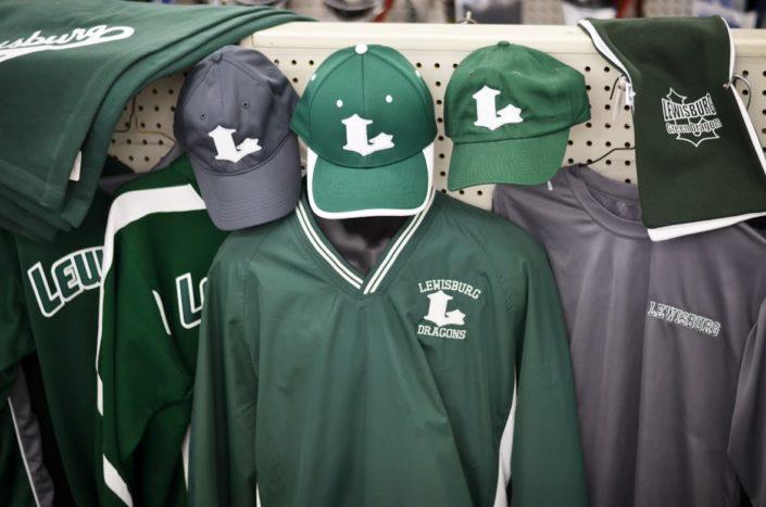Lewisburg Dragons Baseball Uniforms