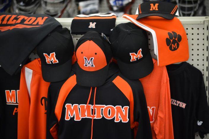 Milton Black Panthers Baseball Uniforms